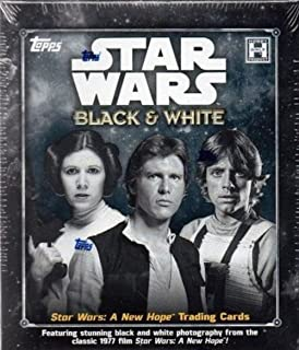2018 Topps Star Wars 'Black & White: A New Hope' Trading Card HOBBY box (7 pk)