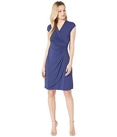 Tommy Bahama Tambour Side Gathered Dress (Island Navy) Women