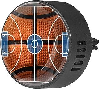 2pcs diffuseur d'aromathérapie diffuseur d'huile essentielle de voiture Vent Clip terrain de basket