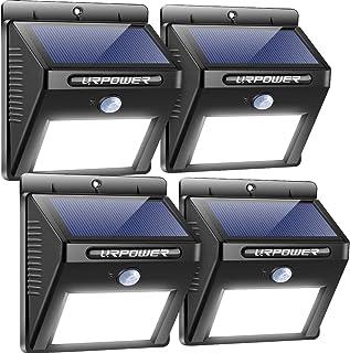 URPOWER Solar Lights Outdoor, Motion Sensor Security Lights Solar Flood Lights Waterproof..