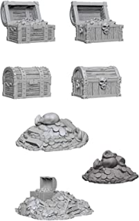 Wiz Kids Deep Cuts Miniatures Bundle: Chests & Treasure Piles