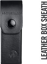 LEATHERMAN - Premium Leather Sheath for Multitools, Fits Skeletool, Crunch & Charge - Black