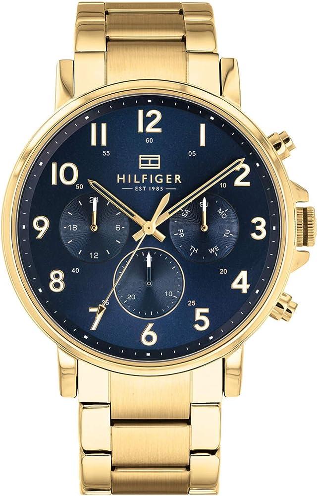 Tommy hilfiger orologio multi-quadrante quarzo uomo 1710384