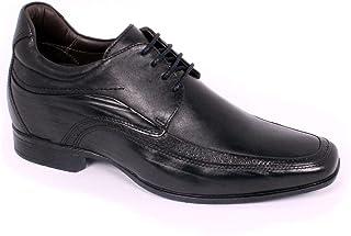 Max Denegri Zapato Formal Manager Negro 7cms De Altura
