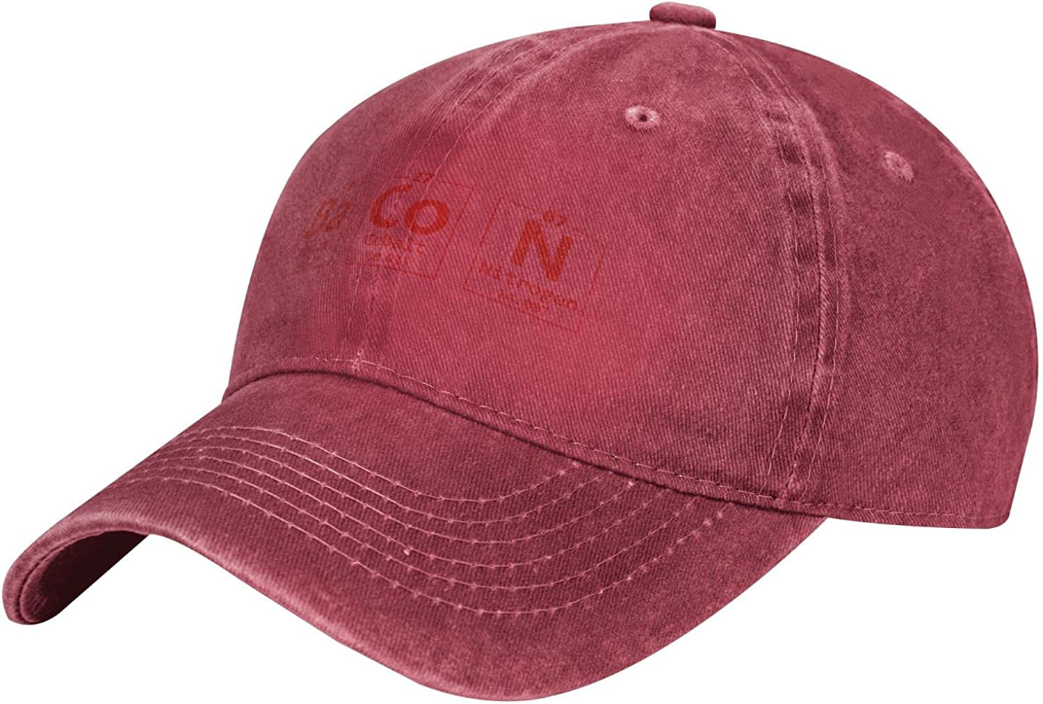 Jianglihxp The Chemistry of Bacon Unisex Adult Fashion Outdoor Cowboy Caps Adjustable Baseball Hat
