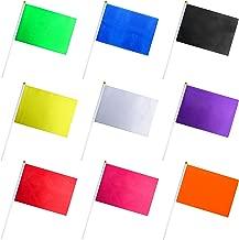plain color flags