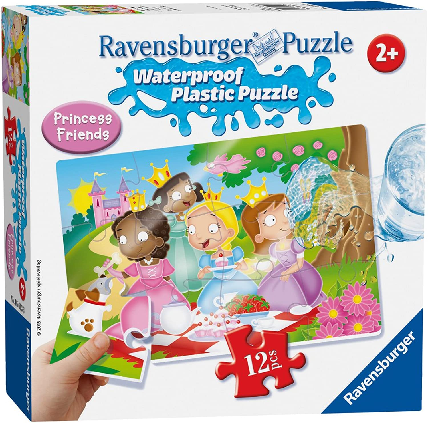 Ravensburger  Princess Plastic Puzzle 12pc