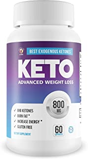 Best Exogenous Ketones - Keto Salts - Advanced Weight Loss - Help to Induce Quicker ketosis - Sodium Beta Hydroxybutrate -...