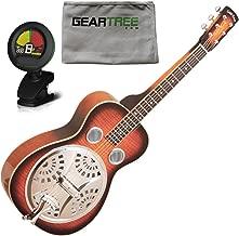 Gold Tone PBS-M Paul Beard Signature Solid Mahogany Squareneck Resonator Guitar