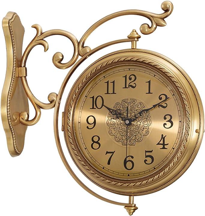 Orologio da parete in ottone a 360 ° 6d2898