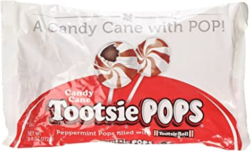 Candy Cane Tootsie Pops 9.6 Ounce