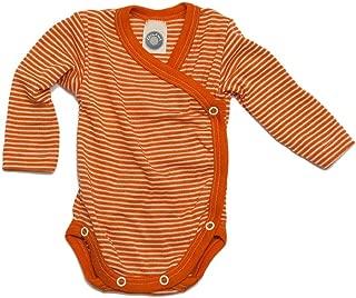 Cosilana - Body para bebé de 70% lana y 30% seda, de origen biológico controlado