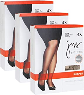Just My Size Women`s Set of 3 Shaper with Silky Leg - Best-Seller!