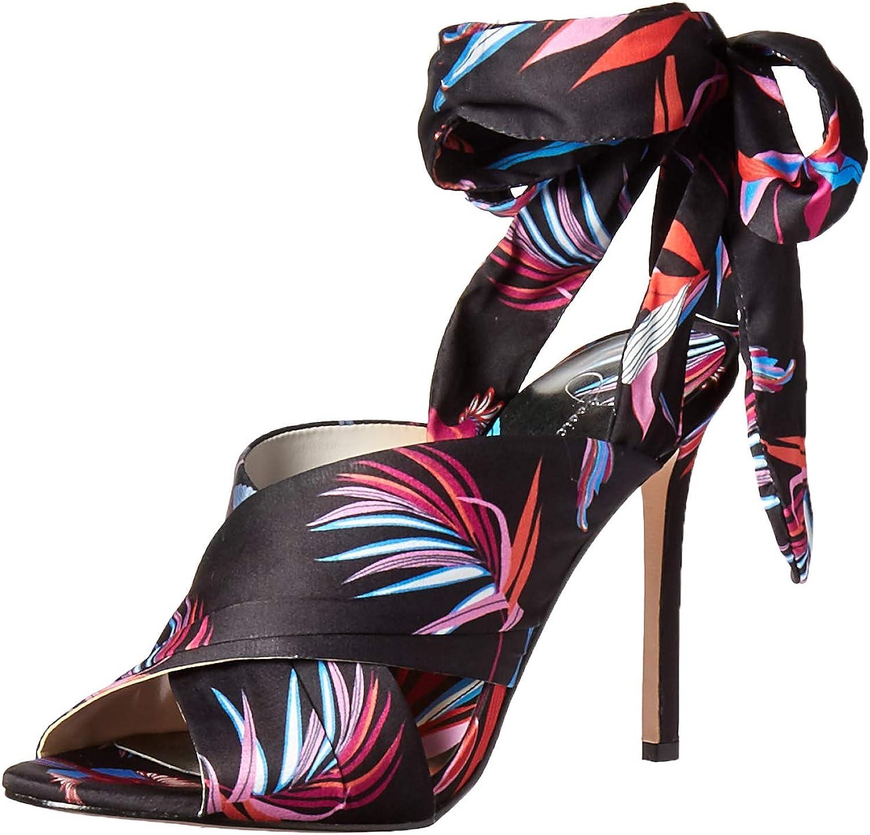Jessica Simpson Womens Jestella Heeled Sandal