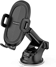 ACCGUYS Universal Car Phone Mount, Cell Phone Holder for Car, Air Vent, Dashboard, Windshield with Quick Release Button Compatible with iPhone X//XR/Xs/Xs Max/8/8Plus, Samsung S10/9/8/7 and More.