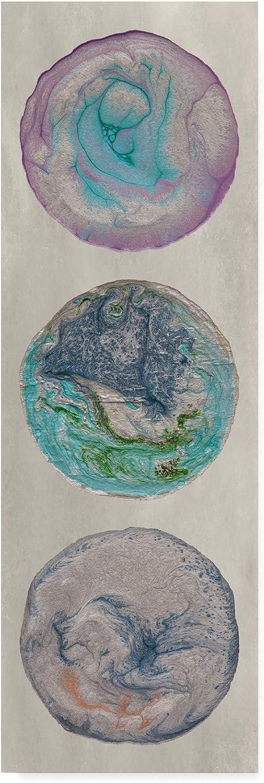 Trademark Fine Art Planet Trio I by Alicia Ludwig, 8x24