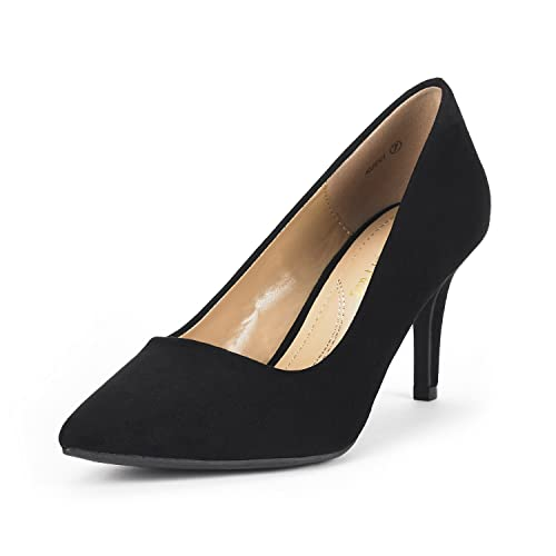 6313b9f34f172 DREAM PAIRS Women s Kucci Classic Fashion Pointed Toe High Heel Dress Pumps  Shoes