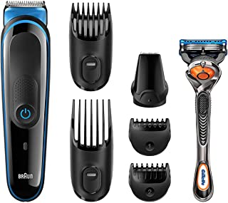 Braun Braun Multi Grooming Kit MGK3045 – 7-in-1 precision trimmer for beard and hair styling,