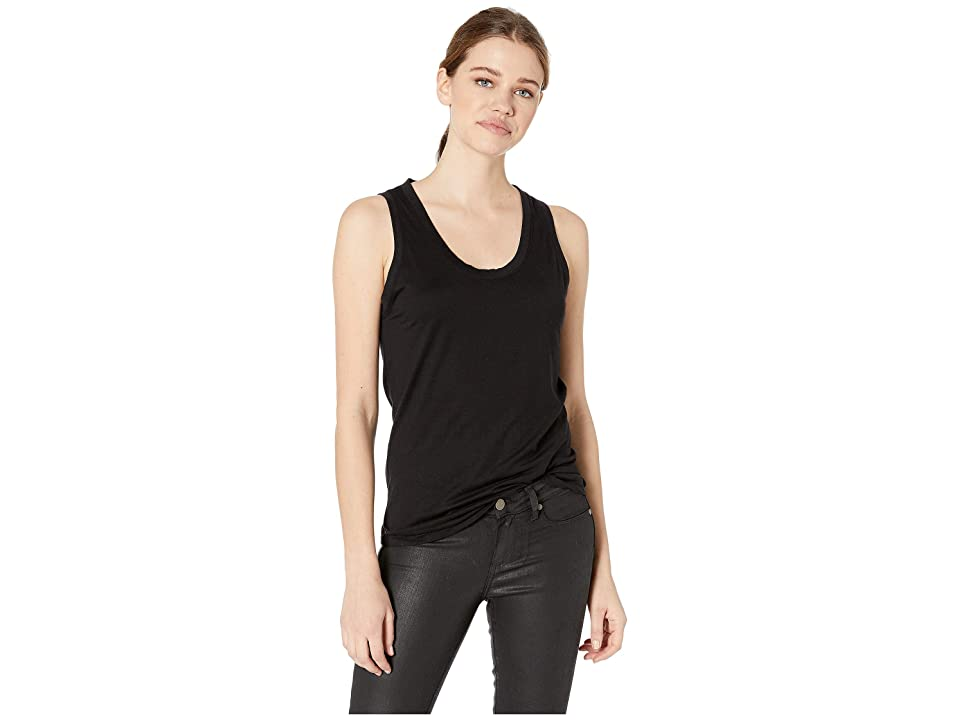 Image of AG Adriano Goldschmied Cambria Tank (True Black) Women's Clothing