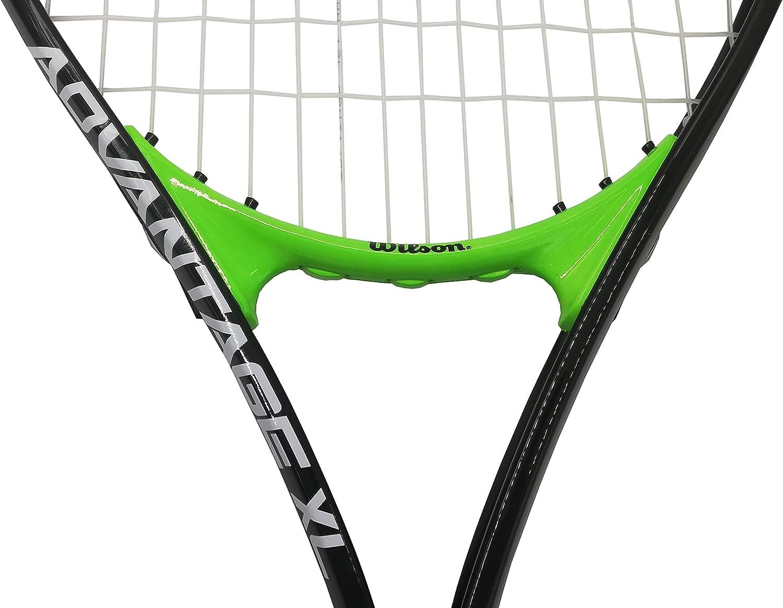 Unisexe Taille de Manche pour Joueurs D/ébutants /à Interm/édiaires Advantage Xl Wilson Raquette de Tennis