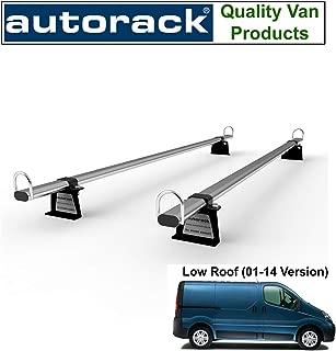 Dachträger Dachgepäckträger Aurilis Pro für Renault Trafic 01-14 3Stangen 140kg