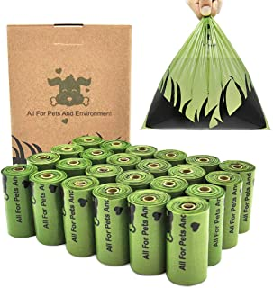 Blnboimrun Dog Poop Bag Degradable Waste Bags Earth-Friendly for Dogs Doggie Cats Pet,15% More Thicker and Tougher Leak-Proof
