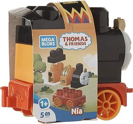 Mega Bloks Thomas /& Friends Train Set 5 Nia Percy Stephen Harold Thomas New