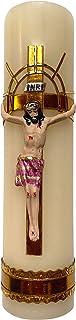 Jesus Crucifixion Candle Artisanal Handmade Cirio De Jesus Crucificado Holy Week