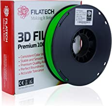 Filatech PETG Filament, Lum. D. Green, 1.75mm, 0.5KG