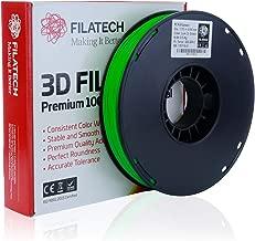 Filatech PETG Filament, Lum. D. Green, 1.75mm, 0.5KG