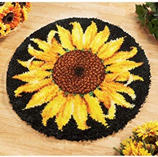 Herrschners® Craftways Striking Sunflower Latch Hook Kit
