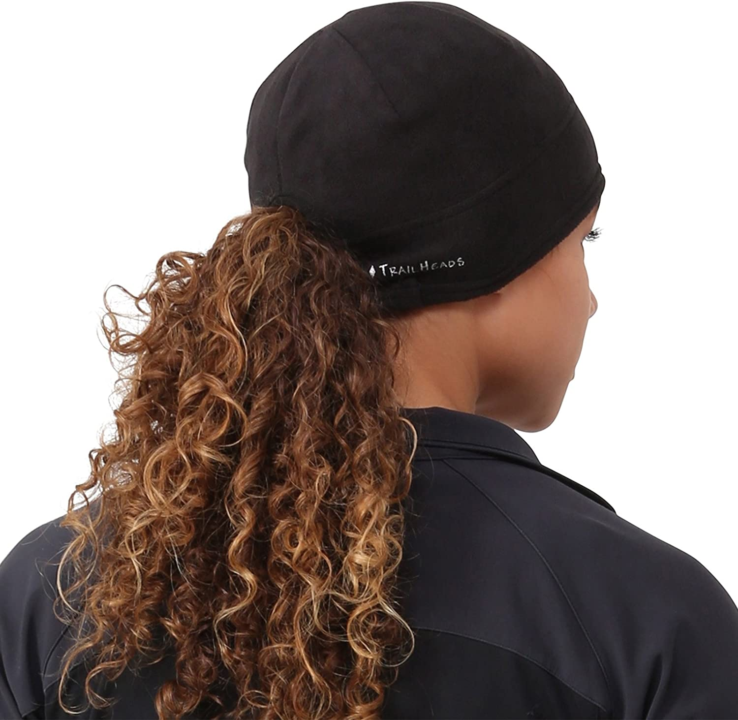 TrailHeads Womens Microfleece Ponytail Hat 2 Colors