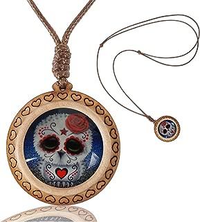 Photo Custom Women Necklace Handmade Wooden Heart Pendants Necklace Jewelry