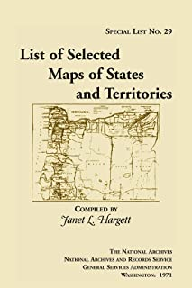 Special List 29: List of Selected Maps and States and Territories