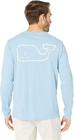 1e66293b9c0d0 Vineyard vines l s fishbone slam graphic tee