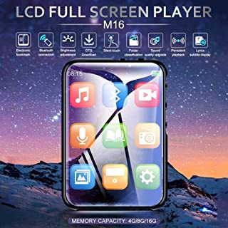 BEESCLOVER M16 Blueteeth MP3 MP4 Music Player 4GB with Blueteeth for ce