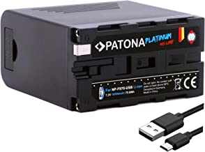 PATONA Platinum Ersatz für Akku Sony NP-F970 (echte 10500mA