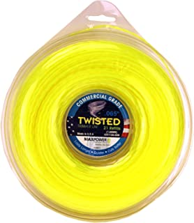 Maxpower 338812 Premium Twisted Trimmer Line .065-Inch Twisted Trimmer Line 420-Foot Length