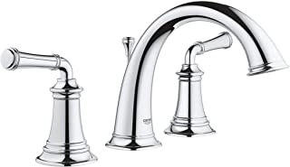 GROHE Gloucester Chrome 2-Handle Widespread WaterSense Bathroom Faucet