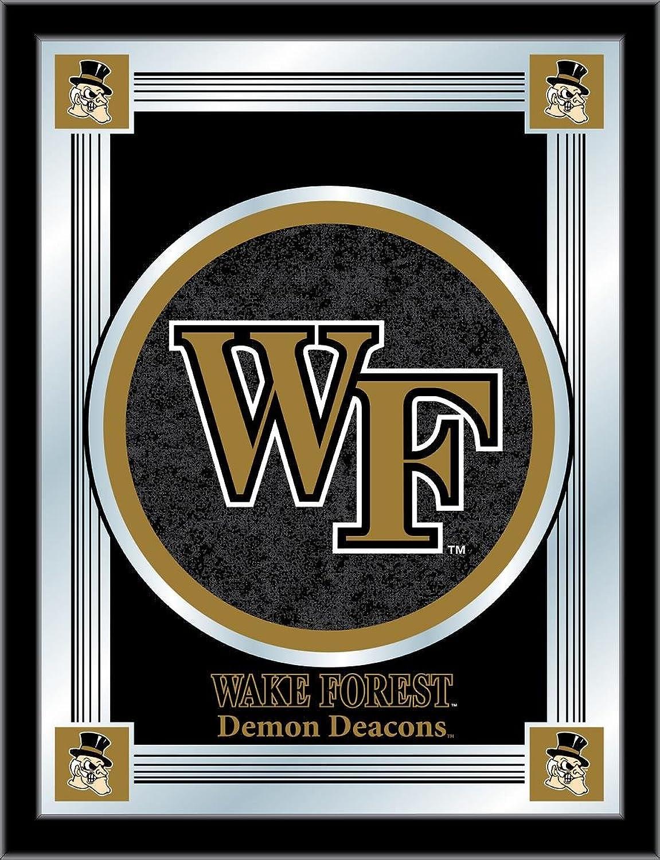 Holland Bar Stool NCAA Wake Forest Demon Deacons Logo Mirror, 17 X 22-Inch