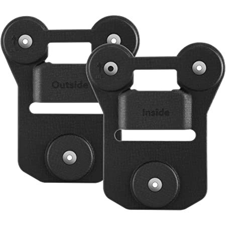 BOBLOV Body Camera Magnet Mount, Universal Magnetic Suction Back Clip Contains Magnets with Strong Suction Make from Black Silica Gel,Stick to Clothes for Universal All Brand Body Camera