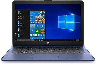 HP Stream 14 inches HD(1366x768) Display, Intel Celeron N4000 Dual-Core Processor, 4GB RAM, 64GB eMMC, HDMI, WiFi, Webcam,...