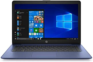 HP Stream 14 inches HD(1366x768) Display, Intel Celeron N4000 Dual-Core Processor, 4GB RAM, 64GB eMMC, HDMI, WiFi, Webcam, Bluetooth, Win10 S, Royal Blue(Renewed)