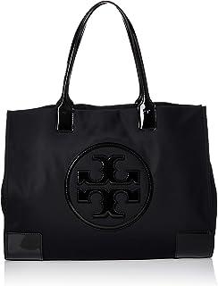 Tory Burch Women's Ella Patent Tote Nylon Top-Handle Bag