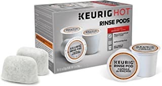 Descaling and Maintenance Kit for Keurig Brewers - Includes 10 Keurig Rinse Pods Plus 2 Water Filters