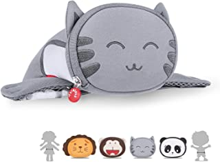 Kids Waist Bag, Termichy Cute 3D animal Friends Pack Gift Choice for Teens Little Boys and Girls go Travel Party Rave on Christmas New York Festival, Parent-child Dressing (Kitty)