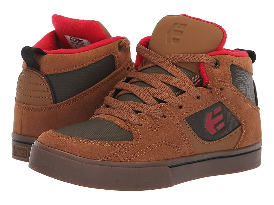 etnies Kids Harrison HT (Toddler/Little Kid/Big Kid) (Brown) Boy