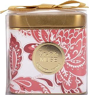 LA JOLIE MUSE vela aromatica - Vela perfumada Dulce Pasión vela decorativa regalo mujer vela navidad 25 horas 3.88oz