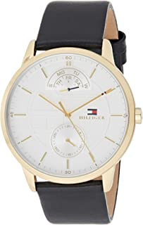 Tommy Hilfiger 1791606 Mens Quartz Watch, Analog Display and Stainless Steel Strap, White