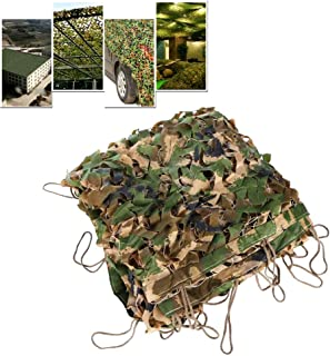 Image of KDDEON 210D Military Camping Hunting Cover Anti-Aerial Jungle Camo Netting,Outdoor Garden Fence Courtyard Kindergarten Theme Decoration Camouflage Shading Net